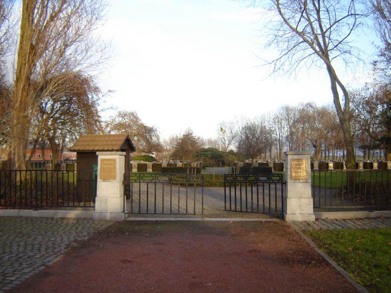 Belgisch-Militaire-begraafplaats-Keiem